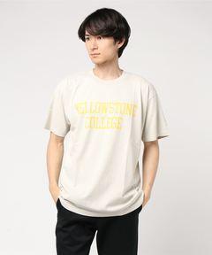 "WIND AND SEA ウィンダンシー / ""イエローストーン""Tシャツ T-SHIRT YELLOWSTONE"