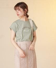 natural couture(ナチュラルクチュール)のヴィンテージ風ヨットT(Tシャツ/カットソー)