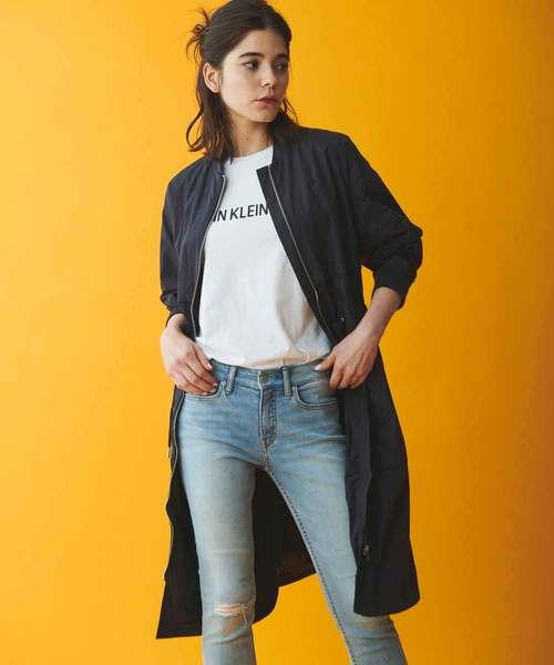 超美品の 【CALVIN KLEIN CALVIN JEANS】 ロング コットン KLEIN ナイロン ナイロン ジャケット(ナイロンジャケット)|Calvin Klein Jeans(カルヴァンクラインジーンズ)のファッション通販, ツノチョウ:e2a1d4d5 --- 888tattoo.eu.org