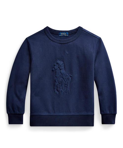 大勧め コットンブレンド スウェットシャツ(スウェット)|Polo Ralph LAUREN Lauren Childrenswear(ポロラルフローレンチャイルドウェア)のファッション通販, デックマーケット:d3868ef0 --- 888tattoo.eu.org