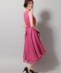 Andemiu(アンデミュウ)の【WEB限定】シフォンフィッシュテール ドレス 771992(ドレス)
