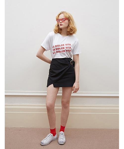 【oioi】LA DOLCE VITA Tシャツ