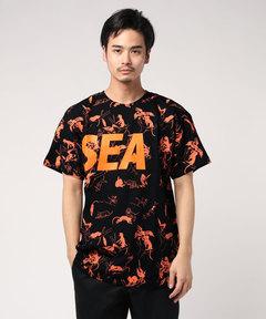 WIND AND SEA ウィンダンシー / パターンTシャツ T-SHIRT PATTERN