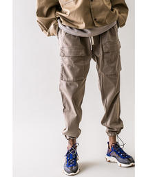 <monkey time> SATIN ST DROPPED CARGO PANTS/カーゴパンツ