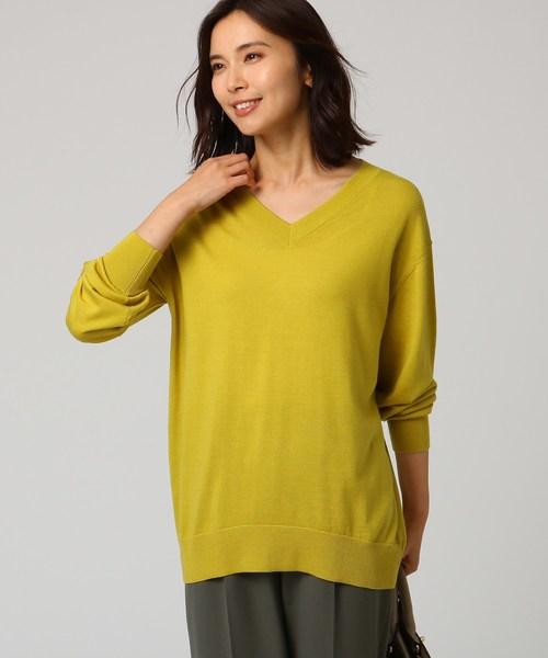大切な [L]シルクウールカシミヤVネックニット(ニット/セーター)|UNTITLED(アンタイトル)のファッション通販, 夢きもの:41d5225c --- ulasuga-guggen.de