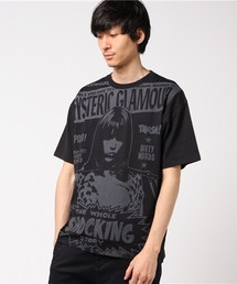 THE WOLE SHOCKING STORY プリント Tシャツ