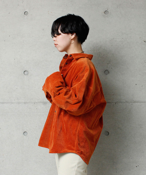 【70%OFF】 【HANZBON 】7Wコールオーバーシャツ(シャツ/ブラウス)|HANZBON(ハンズボン)のファッション通販, おきなわけん:e47eee83 --- aclatic.com