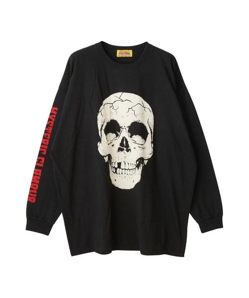 SKULL HEAD オーバーサイズTシャツ