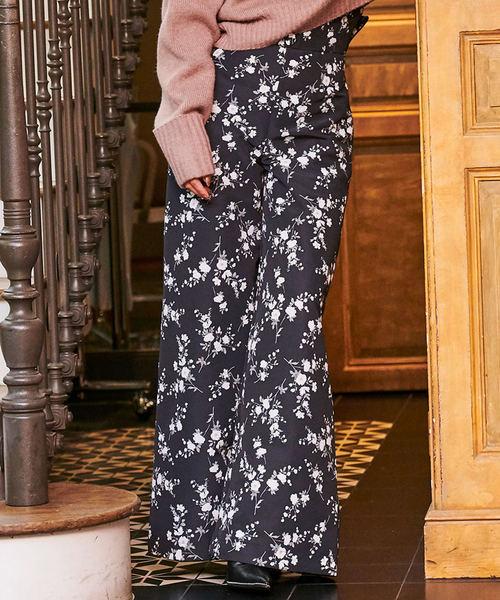 【激安セール】 garden flowerボタンワイドパンツ(パンツ) eimy eimy istoire(エイミーイストワール)のファッション通販, 電光ホーム:97a14ed5 --- genealogie-pflueger.de