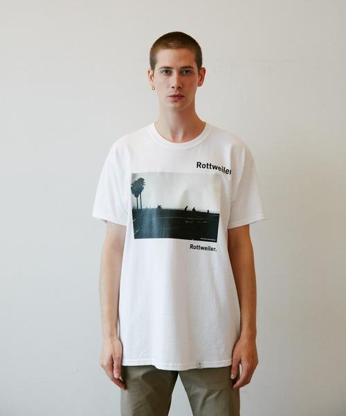 ROTTWEILER(ロットワイラー)の「R・W Photo Tee(Tシャツ/カットソー)」|ホワイト