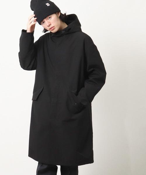 【 TAION / タイオン 】CLOTHING RELATIONSHIP HOOD COAT SET クロージングリレーションシップ フードコート セット ロングコート TAION-CR02 SET(+TAION-104)‥
