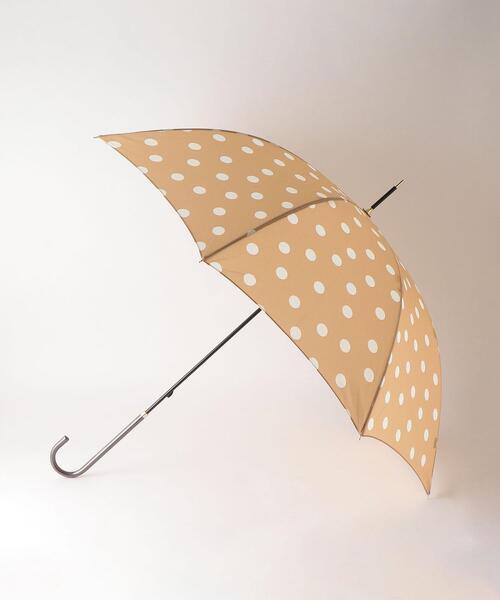 <because(ビコーズ)>ドットプリント 長傘
