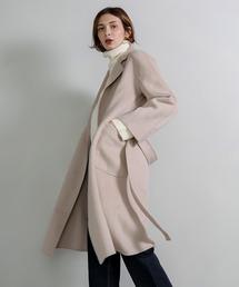 【chuclla】【2020/AW】Basic wool chesterfield coat sb-2 cb-1 chw1334アイボリー