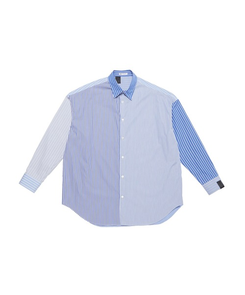 SPRING2021 STRIPE BIG SHIRT