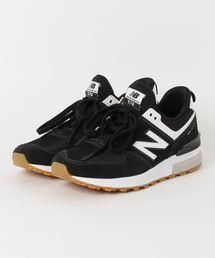 New Balance(ニューバランス)のNew Balance ニューバランス MS574FCB(D) BLACK (FCB)(スニーカー)