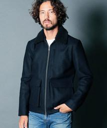 Magine(マージン)の「WOOL MELTON BOA TYPE G-1 JKT:ウールメルトン ボアタイプ G-1ジャケット(ミリタリージャケット)」