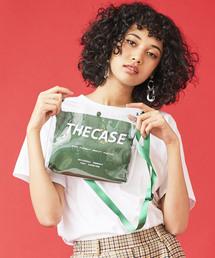 THE CASE(ザケース)の【THE CASE】SHEER PVC SACOSH(ショルダーバッグ)