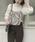 AMERI(アメリ)の「HANG SCARF KNIT(ニット/セーター)」|ホワイト