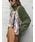 AMERI(アメリ)の「HANG SCARF KNIT(ニット/セーター)」|グリーン
