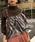 AMERI(アメリ)の「HANG SCARF KNIT(ニット/セーター)」|詳細画像