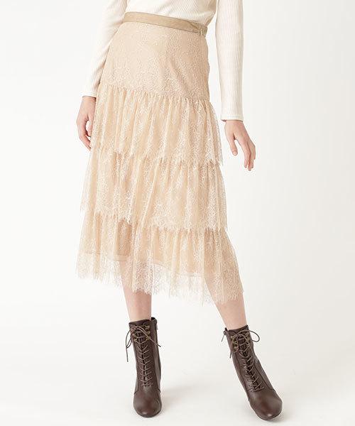 売上実績NO.1 ◆レースティアードスカート(スカート) JILLSTUART(ジルスチュアート)のファッション通販, 亀田郡:a3056844 --- blog.buypower.ng