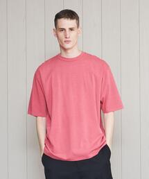 <H>PIGMENT CREW NECK T-SHIRT/Tシャツ