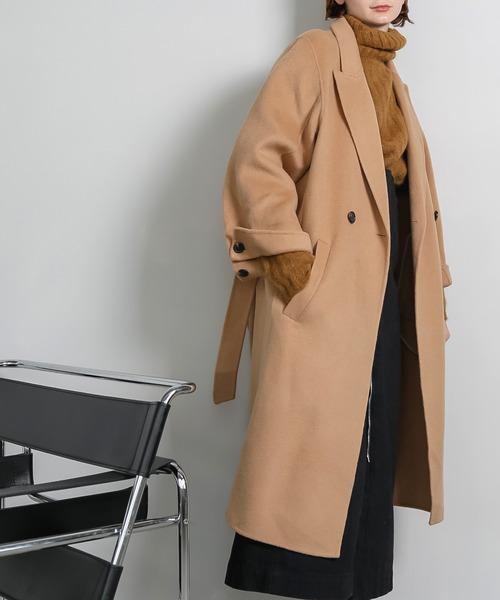 【chuclla】wcuff wool chesterfield coat sb-2 cb-1 chw1335