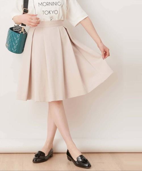 【non-no/CanCam掲載】ボンディングミディータケスカート