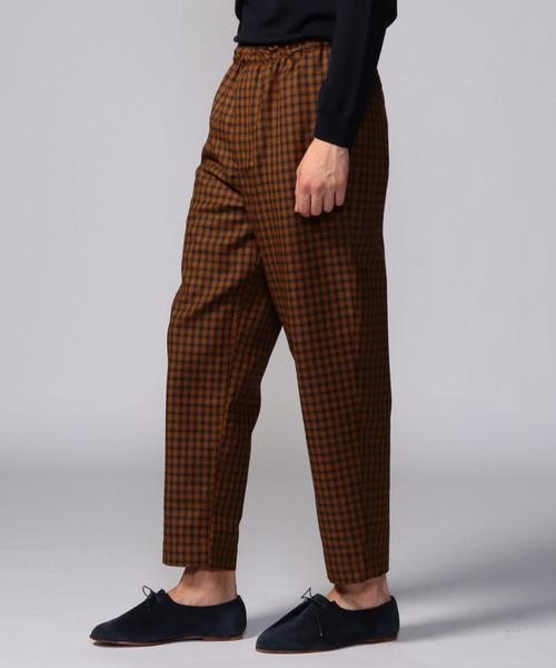 最も完璧な TOMORROWLANDハイブリッドツイード イージーパンツ(パンツ)|TOMORROWLAND(トゥモローランド)のファッション通販, インテリア高錦:01d0b714 --- 888tattoo.eu.org
