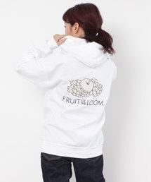 PAR ICI(パーリッシィ)のPAR ICI × FRUIT OF THE LOOM 別注フードプルオーバー(Tシャツ/カットソー)
