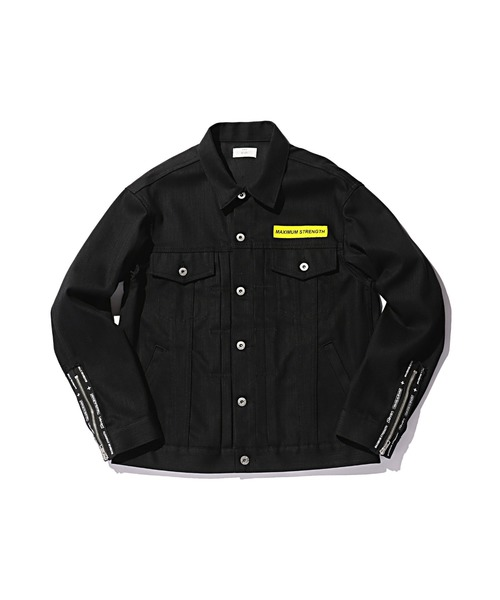 STUDIO SEVEN(スタジオ セブン)の「Denim Jacket(デニムジャケット)」|ブラック