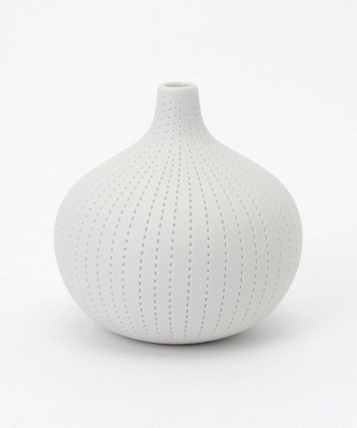 collex_(コレックス)の「フラワーベース dorop vase white(フラワーベース)」|ホワイト