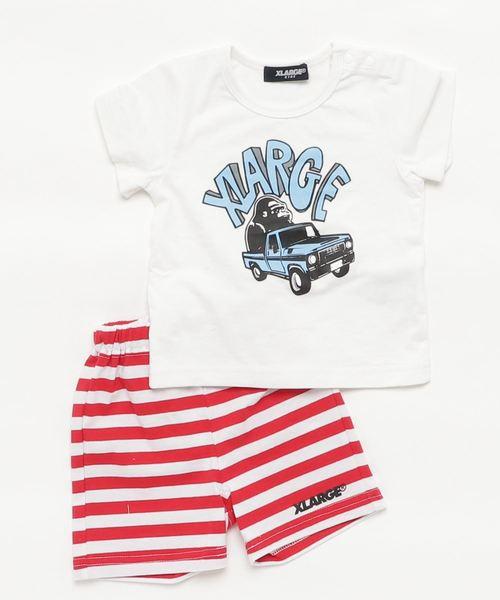 クルマOG半袖Tシャツ+パンツセット