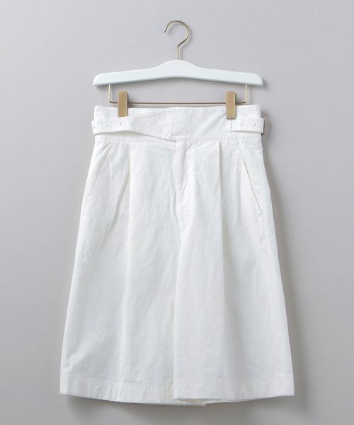 <6(ROKU)>BAFU SHORT PANTS/パンツ