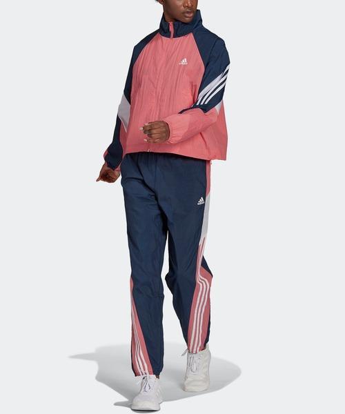 アディダス スポーツウェア ゲームタイム ウーブン トラックスーツ [adidas Sportswear Game-Time Woven Track Suit]