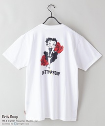 【ベティー】 バックプリント Tシャツホワイト