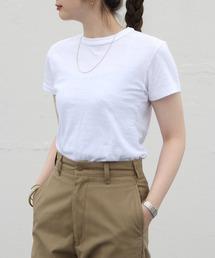 THE SHINZONE/シンゾーン クルーネックTEEシャツ CREW NECK T-SHIRTSホワイト