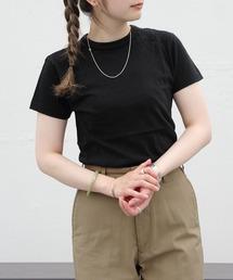THE SHINZONE/シンゾーン クルーネックTEEシャツ CREW NECK T-SHIRTSブラック