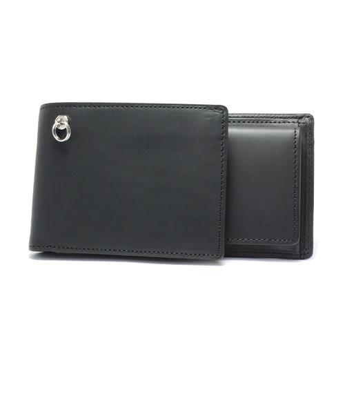 セミロング レザーウォレット/二つ折り財布