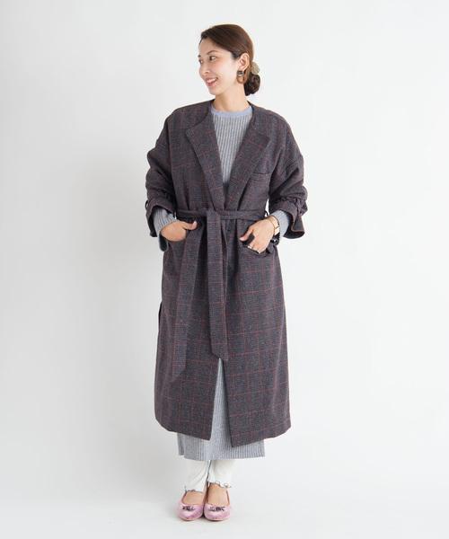史上一番安い Roger check coat coat check/ ロジャーチェックコート(その他アウター)/ LAYMEE(レイミー)のファッション通販, I-MAXsecond:78048979 --- ulasuga-guggen.de