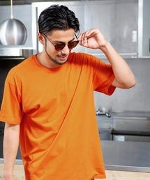 FRUIT OF THE LOOM/フルーツオブザルーム クルーネック 半袖 Tシャツオレンジ