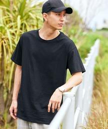 FRUIT OF THE LOOM/フルーツオブザルーム クルーネック 半袖 Tシャツブラック