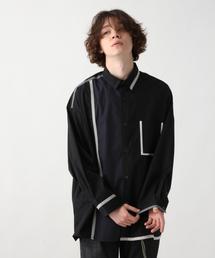 HARE(ハレ)のBIGパイピングシャツ(HARE)(シャツ/ブラウス)