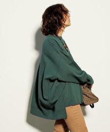 Mila Owen(ミラオーウェン)のアシンメトリーヘムトレーナー(Tシャツ/カットソー)