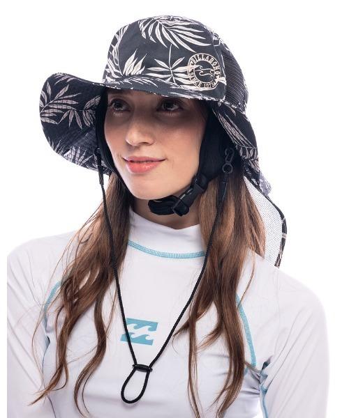 BILLABONG レディース 【SURF CAPSULE】 サーフハット/ビラボン ハット ナイロン 帽子