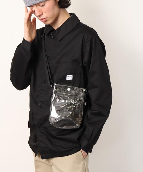 【 FILA / フィラ】 FILA / フィラ × ken kagami/加賀美健  Shoulder bag BM1141・・ ショルダーバッグ