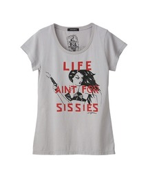 DESTROY ALL MONSTERS/LIFE AIN'T SISSIES Tシャツグレー