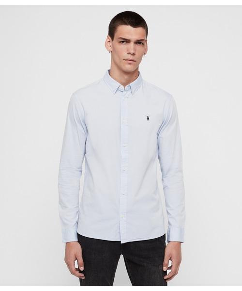 【ネット限定】 REDONDO LS SHIRT | SHIRT ドレスシャツ(シャツ LS/ブラウス) ||ALLSAINTS(オールセインツ)のファッション通販, ピカイチ家具:1e4ec238 --- 888tattoo.eu.org