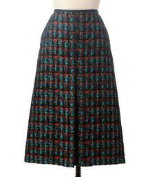 Drawer ジャカードBOXスカート
