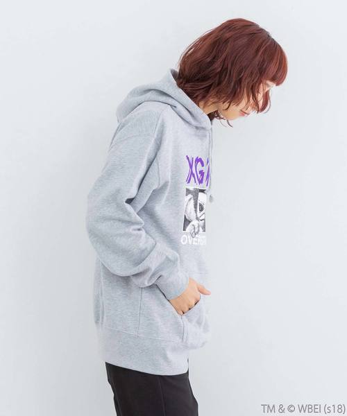 【WEB限定】GREMLiNS x X-girl x OVER THE STRiPES SWEAT HOODIE